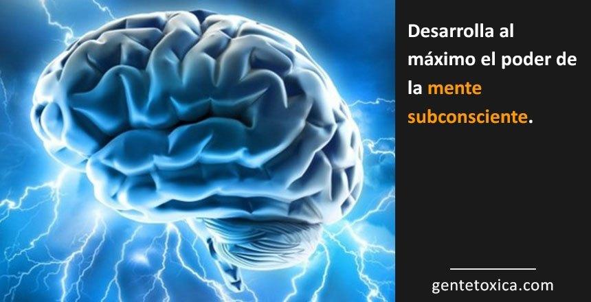 poder de la mente subconsciente