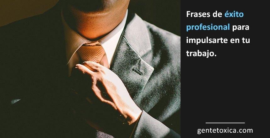 frases de exito profesional